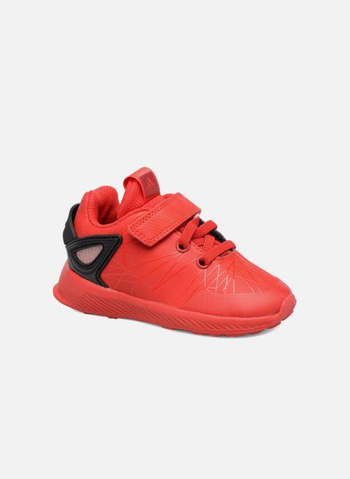 d42bfd10 Sneakers adidas performance Spider-Man Rapidarun I Rød detaljeret billede  af skoene