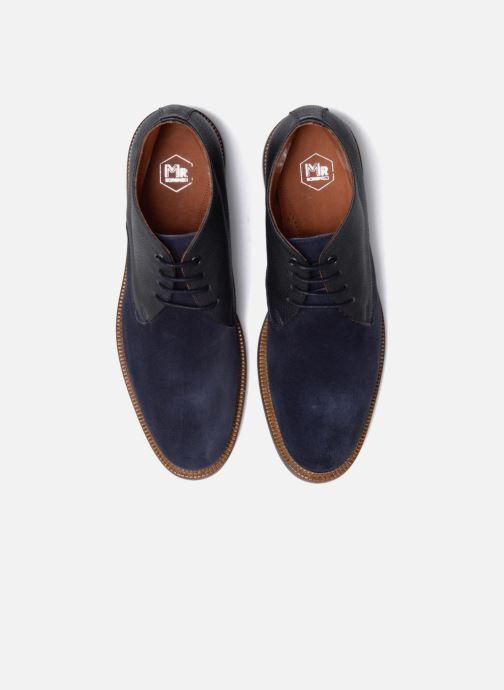 Zapatos con cordones Mr SARENZA Testu Azul vista del modelo