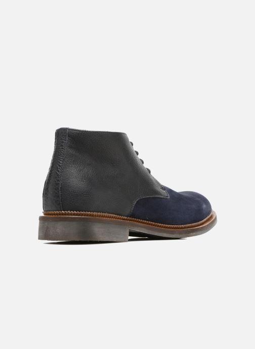 Zapatos con cordones Mr SARENZA Testu Azul vista de frente