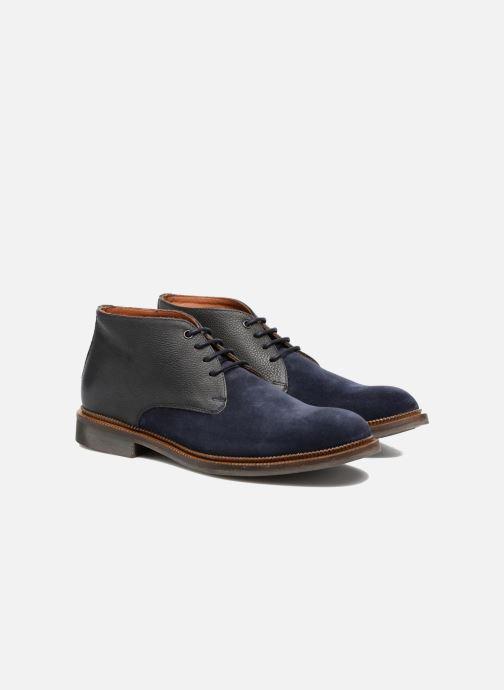Zapatos con cordones Mr SARENZA Testu Azul vistra trasera