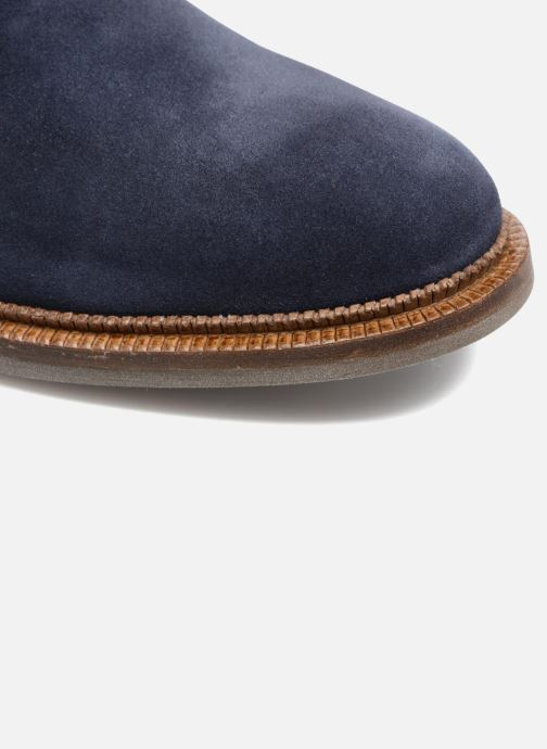Zapatos con cordones Mr SARENZA Testu Azul vista lateral izquierda