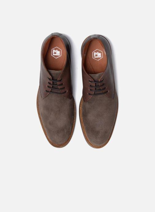 Zapatos con cordones Mr SARENZA Testu Marrón vista del modelo