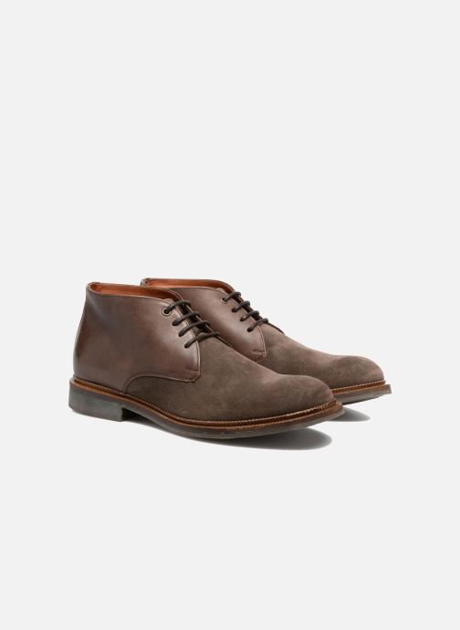 Zapatos con cordones Mr SARENZA Testu Marrón vistra trasera