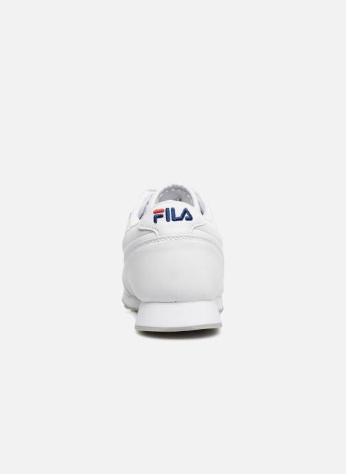 Baskets FILA Orbit Low M Blanc vue droite