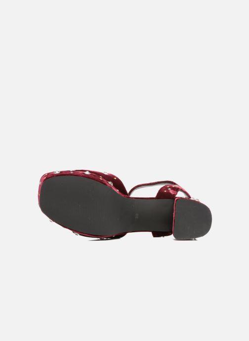 Sandales et nu-pieds SENSO Idris Bordeaux vue haut