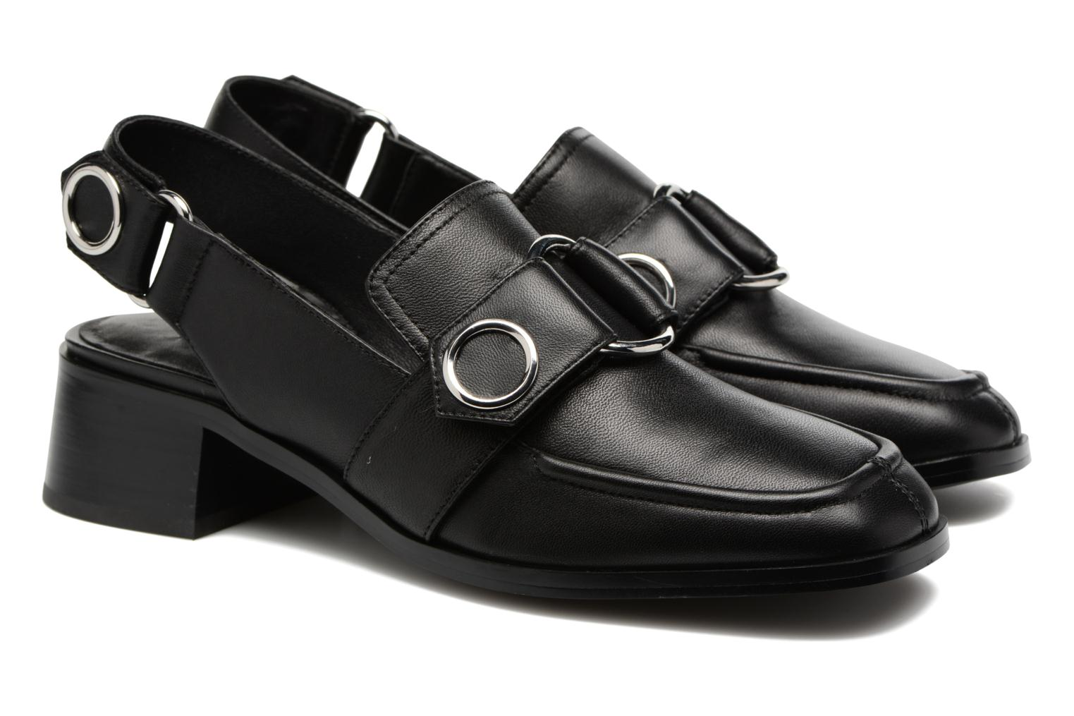 Loafers SENSO Effie I Black 3/4 view