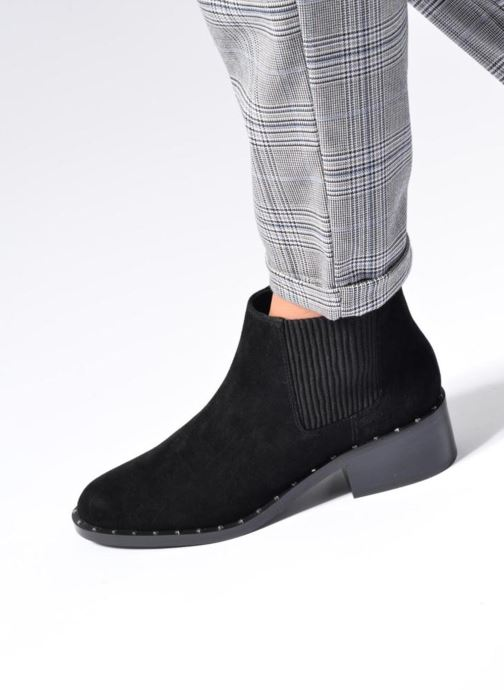 Bottines et boots SENSO Darcy II Noir vue bas / vue portée sac