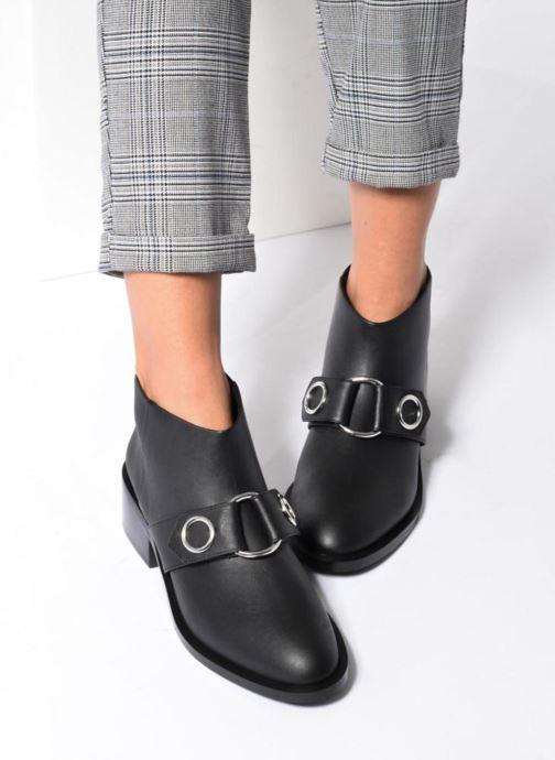Bottines et boots SENSO Drake I Noir vue bas / vue portée sac