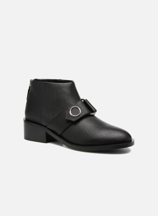 Ankelstøvler SENSO Drake I Sort detaljeret billede af skoene