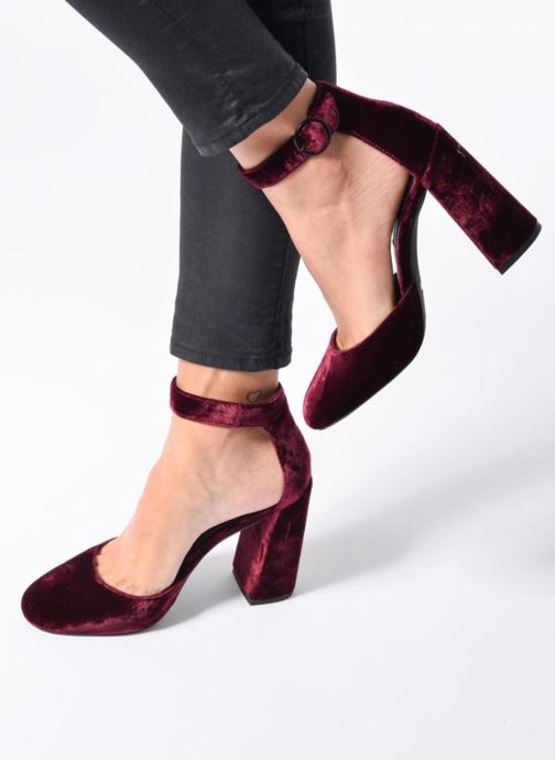 High heels SENSO Xyrus I Burgundy view from underneath / model view