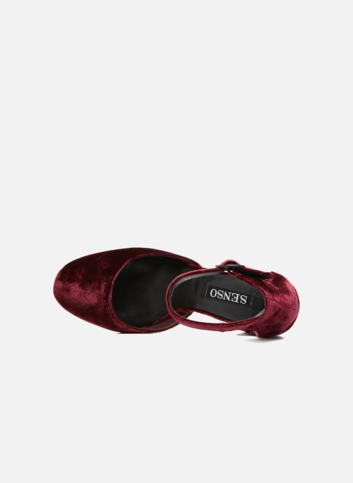 High heels SENSO Xyrus I Burgundy view from the left