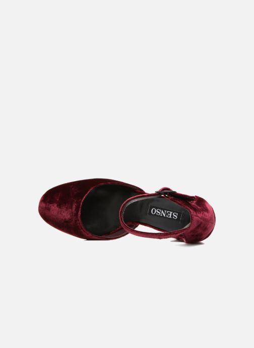 Zapatos de tacón SENSO Xyrus I Vino vista lateral izquierda