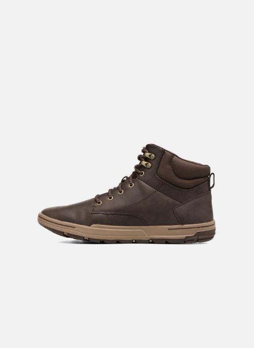 Bottines et boots Caterpillar Colfax Mid Pack Marron vue face