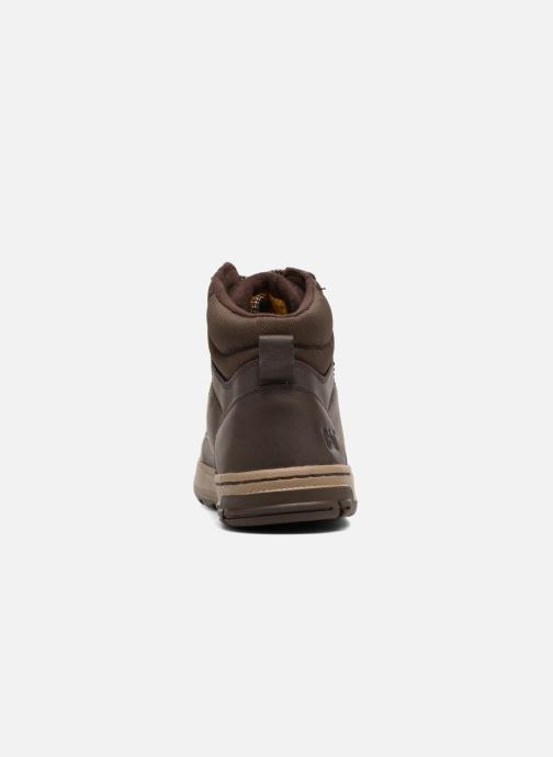 Ankle boots Caterpillar Colfax Mid Pack Brown view from the right