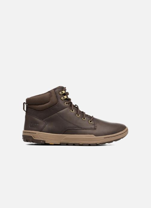 Ankle boots Caterpillar Colfax Mid Pack Brown back view