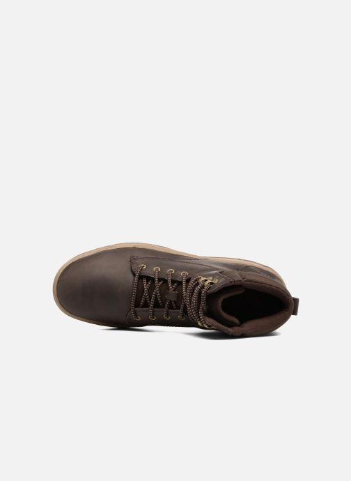Bottines et boots Caterpillar Colfax Mid Pack Marron vue gauche