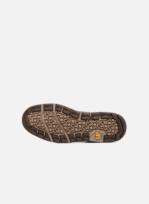 Stivaletti e tronchetti Caterpillar Colfax Mid Pack Marrone immagine dall'alto