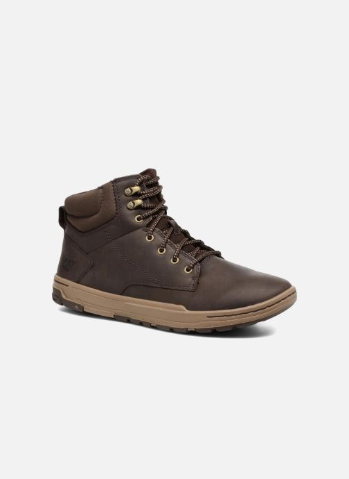 Ankle boots Caterpillar Colfax Mid Pack Brown detailed view/ Pair view