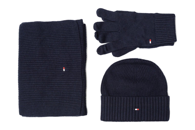 Echarpes et Foulards Tommy Hilfiger Pima Cotton Giftpack Bleu vue détail/paire