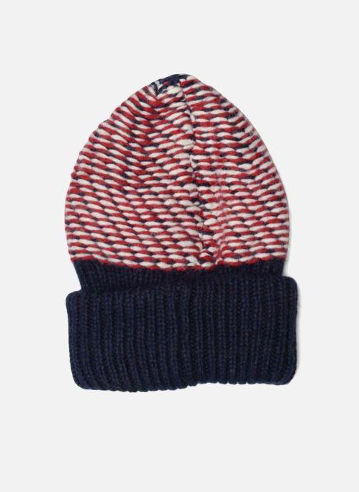 Mütze Tommy Hilfiger Chunky Beanie blau schuhe getragen