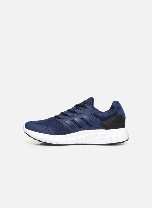Sportschoenen adidas performance Galaxy 4 M Blauw voorkant