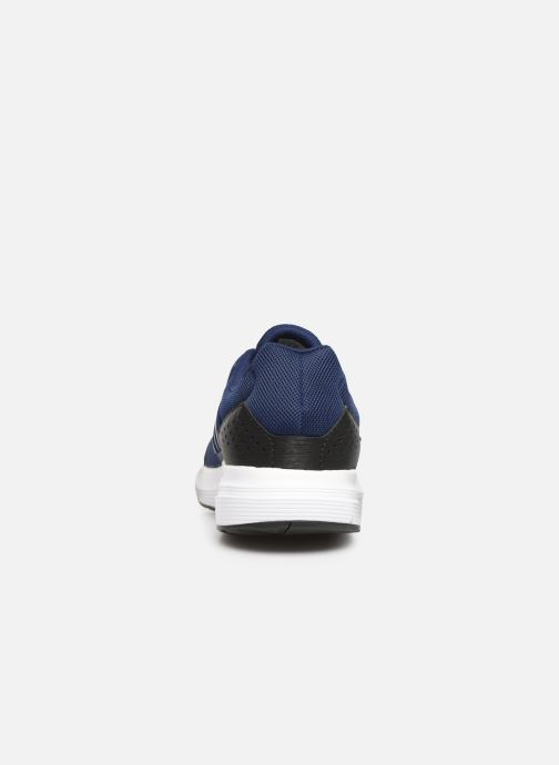 Chaussures de sport adidas performance Galaxy 4 M Bleu vue droite