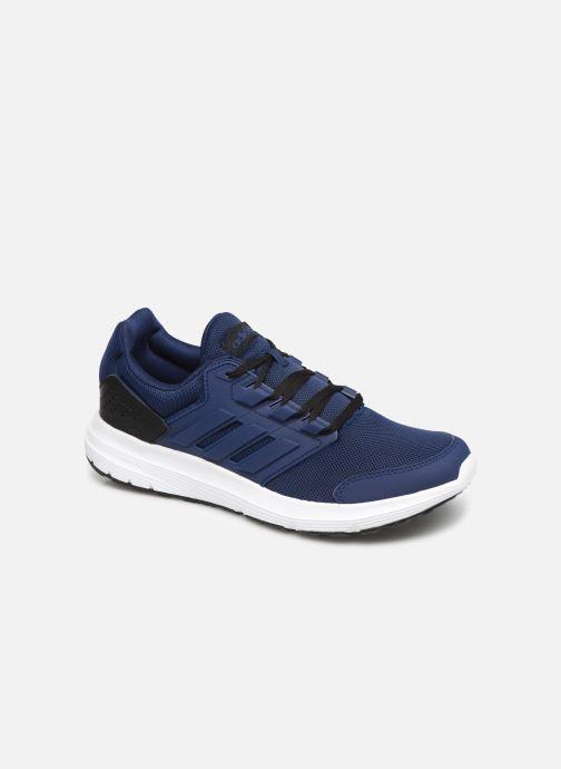 new product 3e412 29fe8 Chaussures de sport adidas performance Galaxy 4 M Bleu vue détail paire