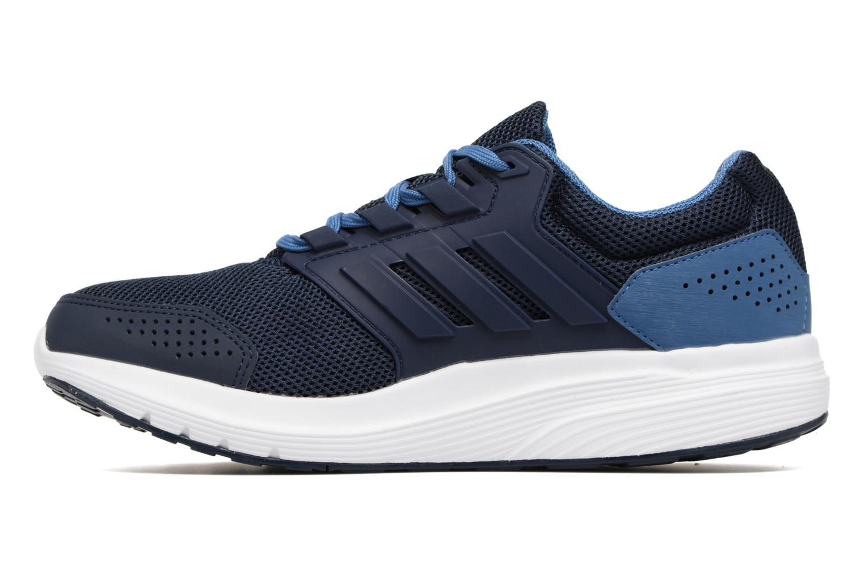 Chaussures de sport Adidas Performance Galaxy 4 M Bleu vue face