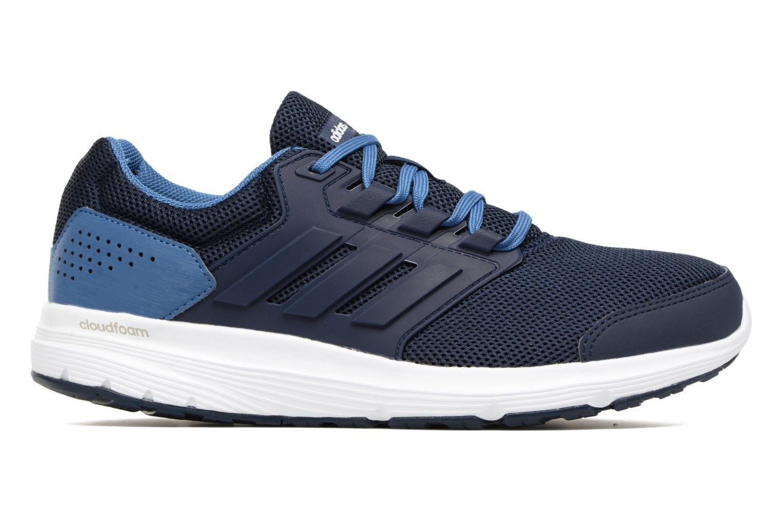 Chaussures de sport Adidas Performance Galaxy 4 M Bleu vue derrière