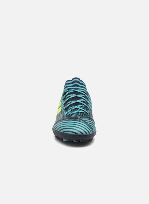 Chaussures de sport adidas performance Nemeziz Tango 17.3 Tf Bleu vue portées chaussures
