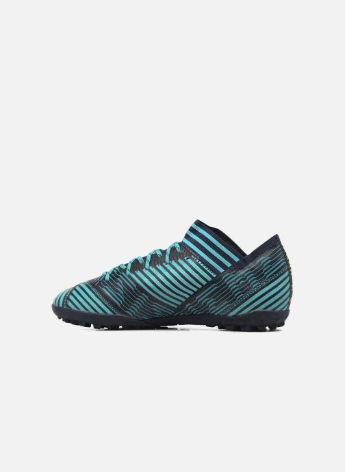 Chaussures de sport adidas performance Nemeziz Tango 17.3 Tf Bleu vue face