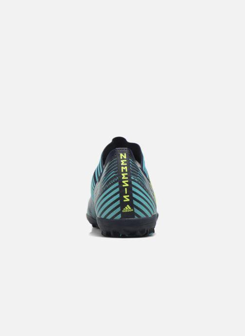 Chaussures de sport adidas performance Nemeziz Tango 17.3 Tf Bleu vue droite