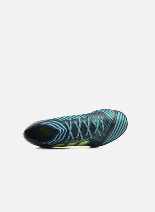 Chaussures de sport adidas performance Nemeziz Tango 17.3 Tf Bleu vue gauche