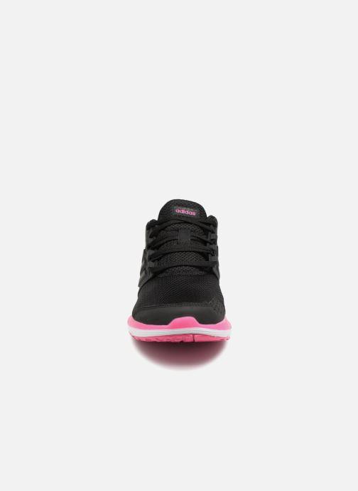 Sportschuhe Adidas Performance Galaxy 4 W schwarz schuhe getragen