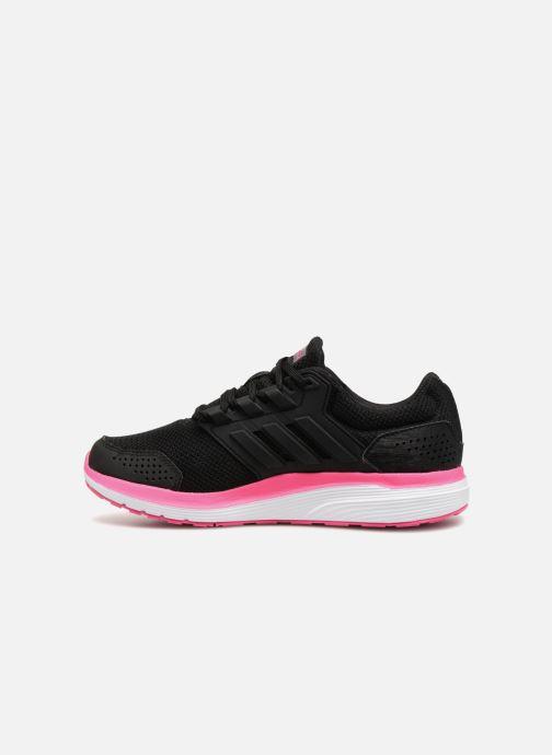 Sportschuhe Adidas Performance Galaxy 4 W schwarz ansicht von vorne