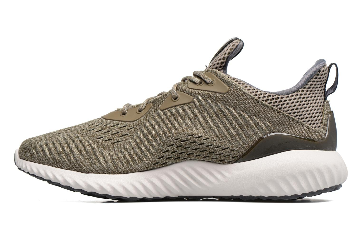 Scarpe sportive Adidas Performance Alphabounce Em M Verde immagine frontale