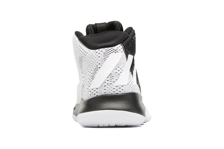 Chaussures de sport Adidas Performance Crazy Heat Noir vue droite