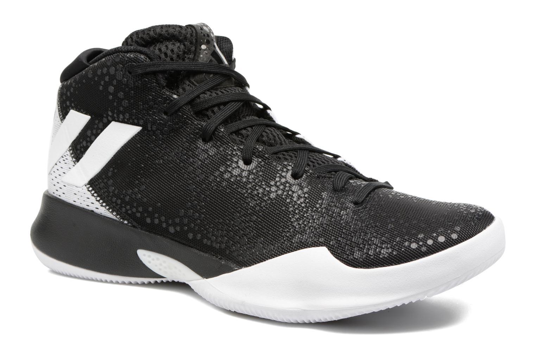 Chaussures de sport Adidas Performance Crazy Heat Noir vue détail/paire