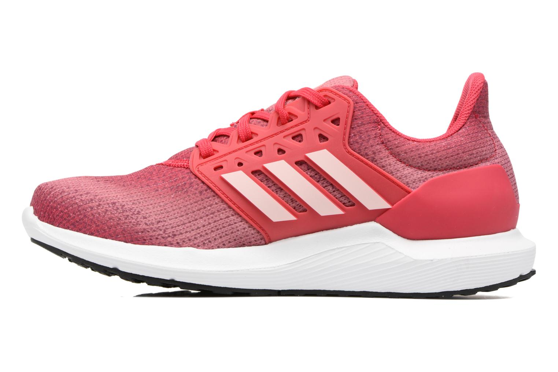 Chaussures de sport Adidas Performance Solyx W Rose vue face