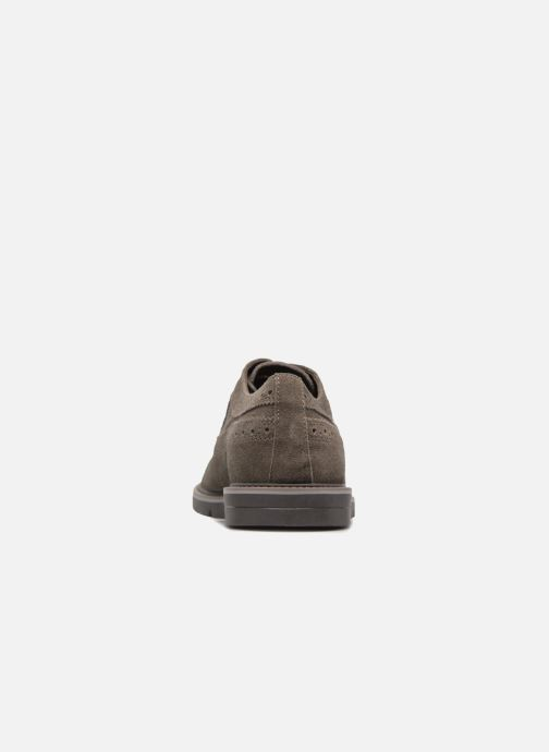 Lace-up shoes Geox U Uvet A U722QA Brown view from the right