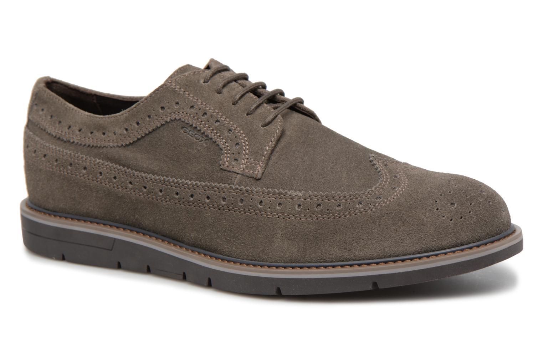 Geox U Uvet A U722QA (Marron) - Chaussures à lacets chez Sarenza ... 80c6b1a269e9