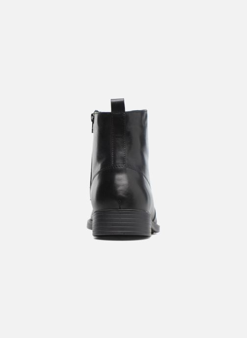 Ankle boots Geox U Yoris Np Abx F U742XF Black view from the right