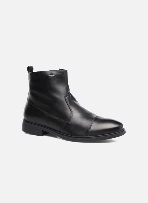 Ankle boots Geox U Yoris Np Abx F U742XF Black detailed view/ Pair view