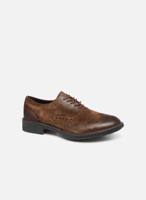 Zapatos con cordones Geox U Kapsian A U743PA Marrón vista de detalle / par