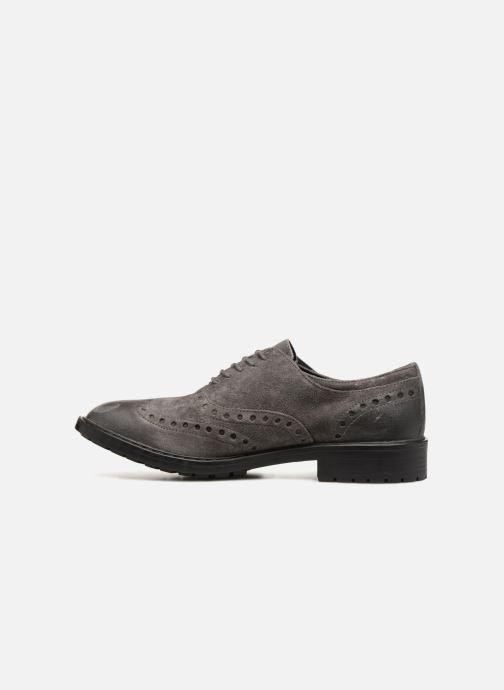 Chaussures à lacets Geox U Kapsian A U743PA Gris vue face
