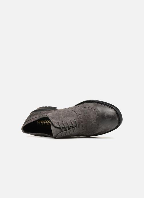 Chaussures à lacets Geox U Kapsian A U743PA Gris vue gauche