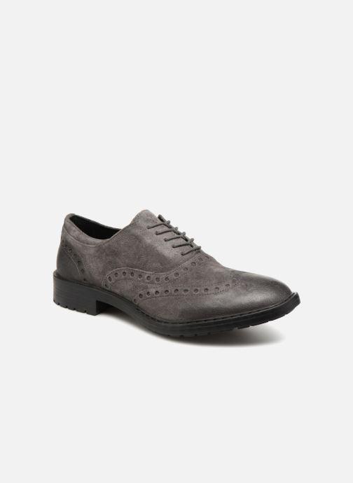 Chaussures à lacets Geox U Kapsian A U743PA Gris vue détail/paire