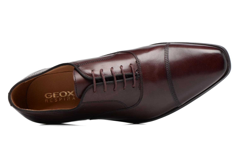 Veterschoenen Geox U New Life E U74P4E Bordeaux links
