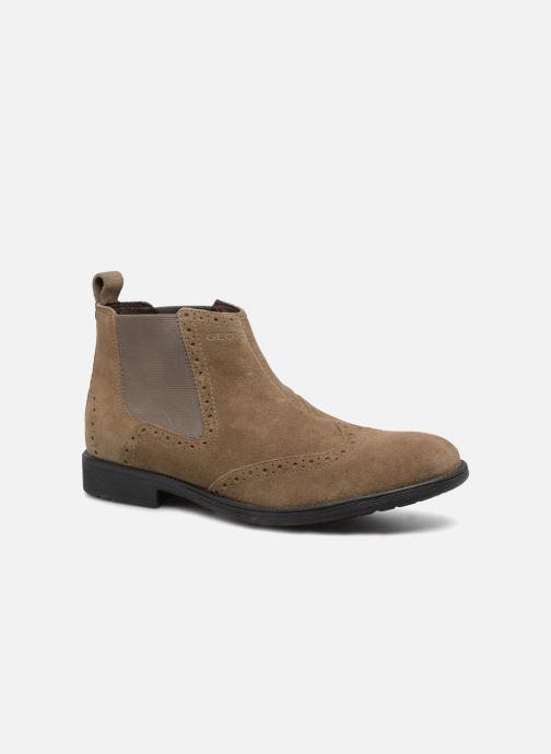 bd020a2a434469 Geox U Jaylon B U74Y7B (Gris) - Bottines et boots chez Sarenza (324569)
