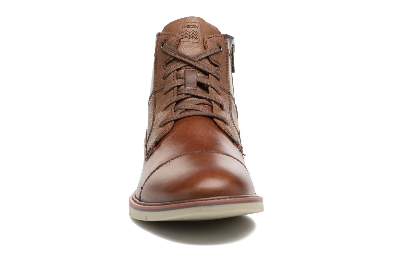 Bottines et boots Geox U Uvet D U742QD Marron vue portées chaussures